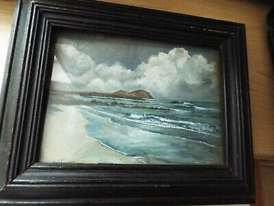 Antique / Vintage Sea Painting. Signed WA Remy??? • 2.20£