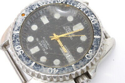 $ CDN67.46 • Buy Citizen Diver 4-824164Y Japan Automatic Watch For Repairs Or For Parts -13103