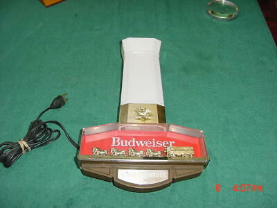 $ CDN71.34 • Buy Vintage  Budweiser King Of Beers Clydesdale Horse Sign Light Bar Advertisement