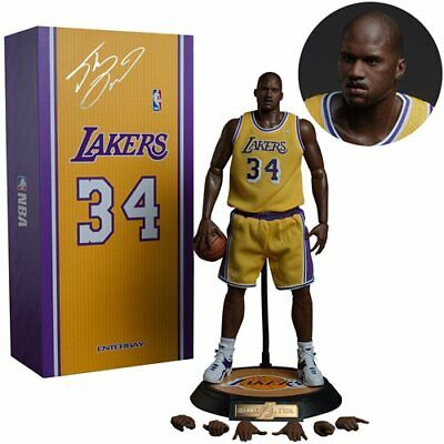 $430 • Buy ENTERBAY SHAQUILLE O'NEAL 1/6 ACTION FIGURE LAKERS EDITION New In Box