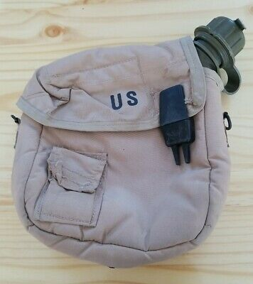 $ CDN18.13 • Buy Us Military 2 Quart Collapsible Canteen With Tan Cover
