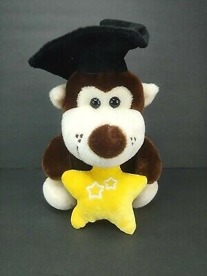 $ CDN17.86 • Buy Balloon Delights Monkey Wearing Graduation Hat Plush Animals Yellow Star 9