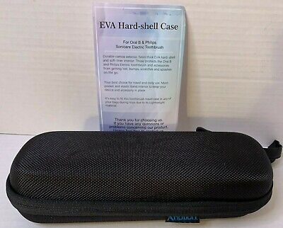 AU18.22 • Buy ProCase Electric Toothbrush Hard Travel Case For Oral-B Pro / Philips Sonicare