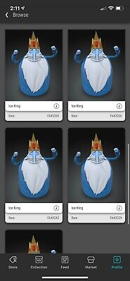 $148 • Buy VeVe NFT - Adventure Time - Ice King - First Appearance, Rare, Sold Out!