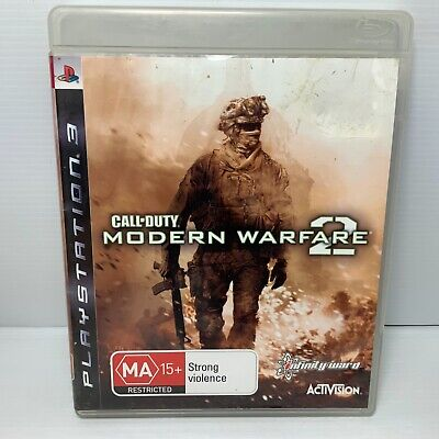 Call Of Duty Modern Warfare 2 + Manual - PS3 - Tested & Working! Free Postage! • 3.34£