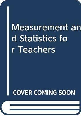 £42.89 • Buy Measurement And Statistics For Teachers Book The Cheap Fast Free Post New Book