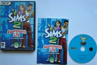 £10.86 • Buy The Sims 2 Apartment Life (PC) Used Tested Working