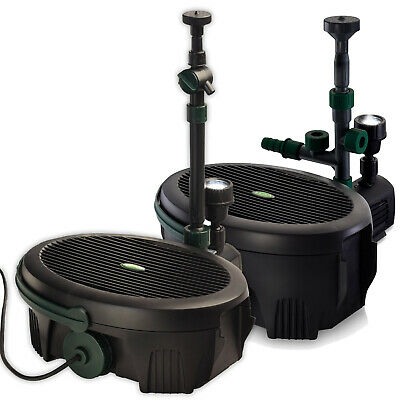 £98.99 • Buy BLAGDON InPond FISH POND SUBMERSIBLE FILTER UVC PUMP LED LIGHT ALL IN ONE