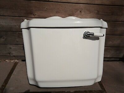 £50 • Buy Victoria Plum Ceramic Toilet Cistern With Inlet, Flush Mechanism And Handle.