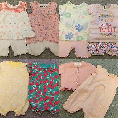 AU9.03 • Buy Large Bundle Of Baby Girls Clothes 0-3 Months
