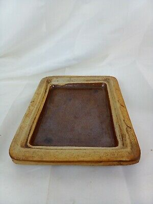 £11.95 • Buy Vintage Quantock  Pottery Cheese Dish Base NO LID