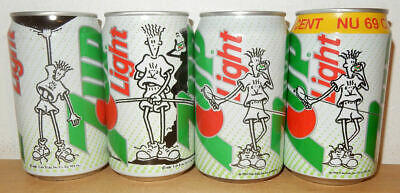 AU12.71 • Buy 4 Fido Dido 7UP Light Cans From HOLLAND (33cl)