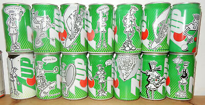 AU31.78 • Buy 14 Fido Dido 7UP Cans From HOLLAND (33cl)