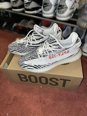 $ CDN544.48 • Buy Yeezy Boost 350 V2 Zebra Size 9.5 Authentic Brand New In Box
