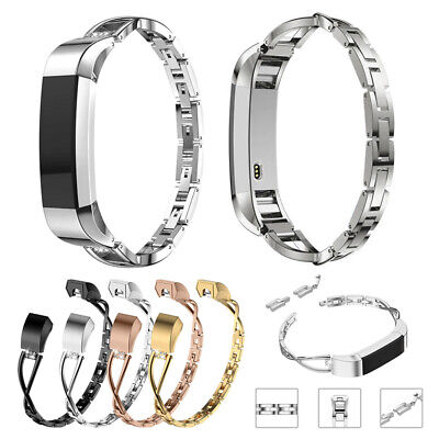 AU17.29 • Buy For Fitbit Alta/Alta HR Women Bling Rhinestone Stainless Steel Watch Strap Band