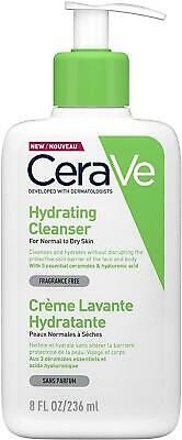 £8.13 • Buy 236ml CeraVe Hydrating Cleanser Normal To Dry Skin Gentle Daily Face Body Wash