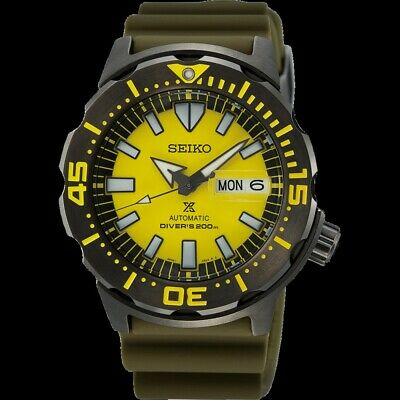 $ CDN595.63 • Buy NEW SEIKO Monster SRPF35 Yellow Limited Special Edition Automatic Watch 4R36