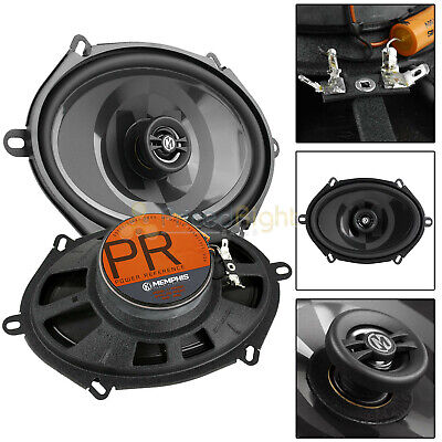 AU127.06 • Buy Memphis Audio 5x7  Shallow Coaxial Speakers 80 Watts Max PRXS57 Power Reference
