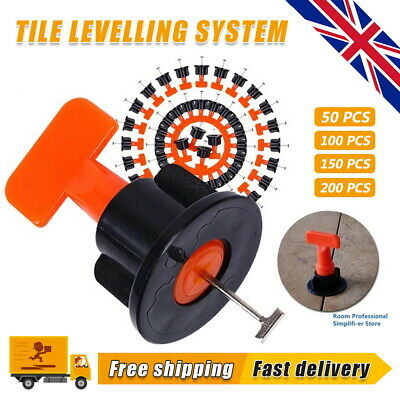 £12.99 • Buy 50-200 Floor Wall Tile Leveler Tools Construction Reusable Tile Levelling System