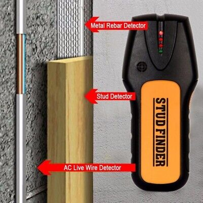 £8.98 • Buy Metal Wood StudsElectric Detector AC Voltage Live Wire Detect Wall Scanner 2021