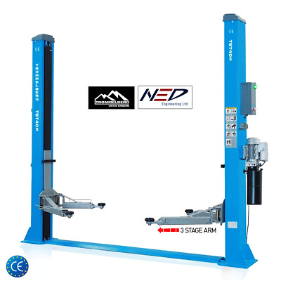 £1699 • Buy Two Post Lift - 3 Stage Arm - Trommelberg Germany