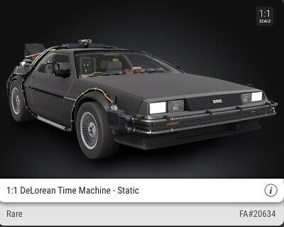 $275 • Buy VEVE NFT DeLorean, Set Of 2 Common #18888 , #20751 And A RARE #20634 -SOLD OUT