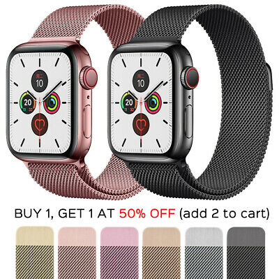AU9.50 • Buy Classic Magnetic Strap For Apple Watch Band Series 6 5 4 3 21 SE Stainless Steel