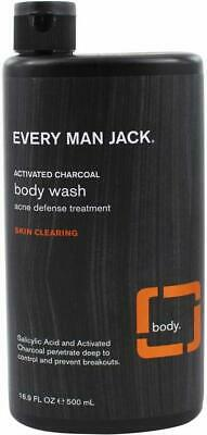 £9.66 • Buy Skin Clearing Activated Charcoal Body Wash And Acne Defense Treatment, 16.9 Oz 1