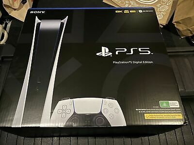 AU1050 • Buy Trusted Seller   New   Ps5 Sony Playstation 5 Digital Console   Free Shipping