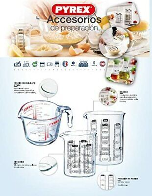 £8.30 • Buy PYREX Clear  Measuring - Mixing Jug . Kitchen - Heavy - Heat Resistant