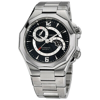 $2499 • Buy Mens Concord Mariner Reveil Stainless Steel Automatic
