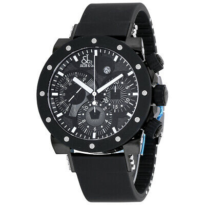 £3328.99 • Buy New Mens Jacob & Co. Epic II Chronograph PVD Steel Automatic