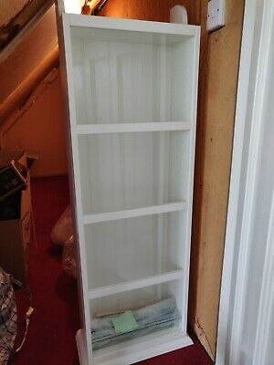 £10 • Buy Ikea Liatorp Glass Fronted Display Case / Shelves In White