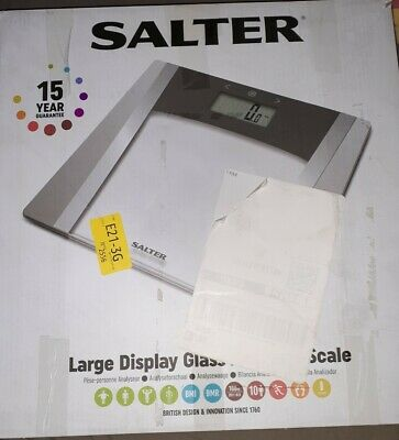 £9 • Buy Salter Large Display Glass Analyser Scale