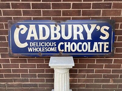 £175 • Buy Vintage Cadbury's Sign Stunning Large Hand Painted