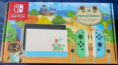 $ CDN369.99 • Buy NEW Nintendo Switch Console Animal Crossing  Special Edition