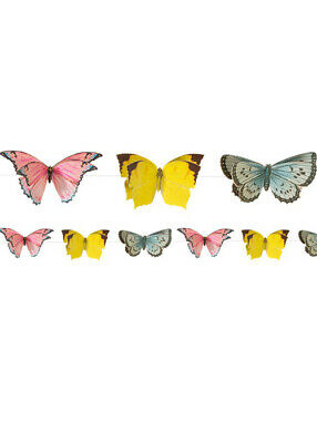 £11.99 • Buy Deluxe Butterfly Bunting Party Garland