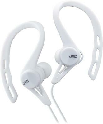 £9.99 • Buy JVC Sports - Splash And Sweat Proof In-Ear Headphones With Over-Ear Clip - White