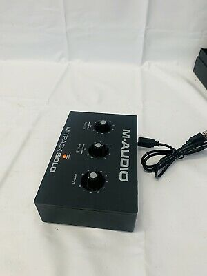 $80 • Buy M-Audio M-Track Solo 2-Channel USB Audio Interface