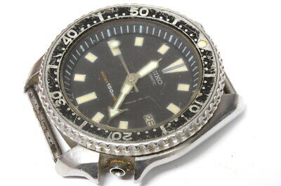 $ CDN116.71 • Buy Seiko Diver 7002-7001 Japan A Automatic Watch For Repairs Or For Parts  -13160