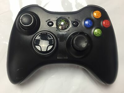 £12.99 • Buy Microsoft Official Xbox360 Wireless Controller/ Gamepad Black Missing Cover