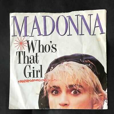 "£1 • Buy Madonna - Who's That Girl - 7"" Vinyl Single"