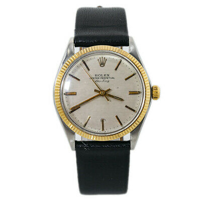 $ CDN3709.46 • Buy Rolex Air King 5501 Gold Automatic Mens Vintage Watch 34MM