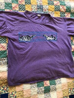 $ CDN110.40 • Buy Vintage 70s CHOUINARD EQUIPMENT Pre Patagonia T Shirt Size Medium / Small