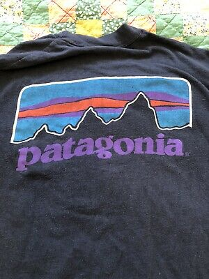 $ CDN40.03 • Buy Vintage 70s 80s Patagonia Long Sleeve T-Shirt Size M Original OG Deep Pile