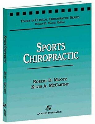 £35.29 • Buy Sports Chiropractic (Topics In Clinical Chiropractic Series) By MCCARTHY, KEVIN