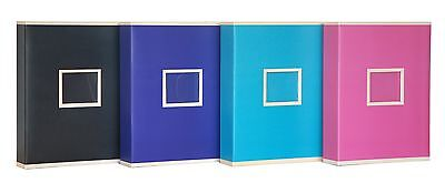 £14.99 • Buy Extra Large Pink Two Tone Slip In Photo Album Holds 600 6 X 4 Photos