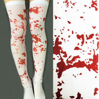 $ CDN5.09 • Buy Bloody  Stockings Halloween  Ladies Horror Fancy Dress Bloody Nurse Zombie Scary