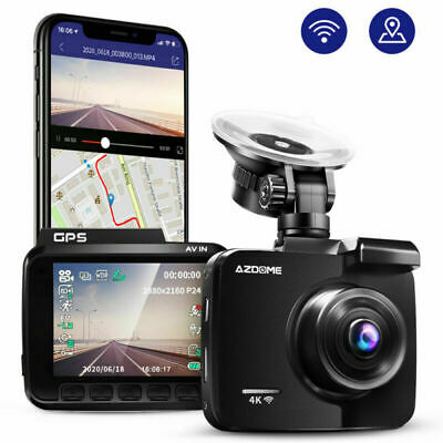 AU75.99 • Buy AZDOME GS63H 4K Dash Cam 2160P Car Camera WIFI GPS Video Recorder Sony Sensor