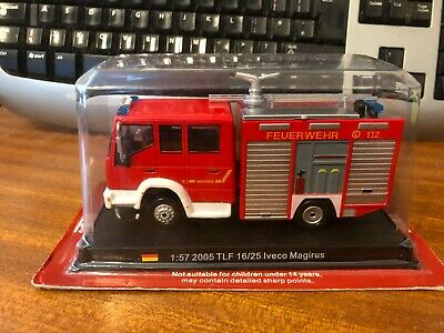 £10.49 • Buy Del Prado Fire Engines 1/57 Scale 2005 TLF 16/25 Iveco Magirus - Blister Pack